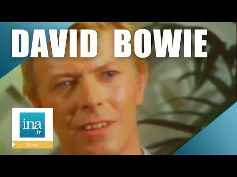David Bowie interviewé par Antoine de Caunes en 1983   Archive INA