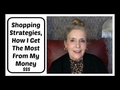 Shopping Strategies - How I Get The Most From My Money + 2 Winners