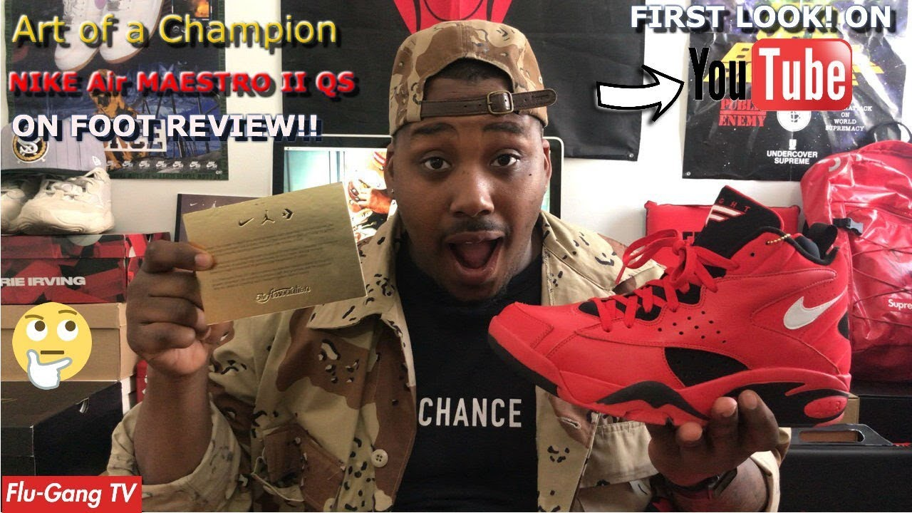 half off c2f05 e8414 Nike AIR MAESTRO II Trifecta QS - On-foot Review! FIRST ON YOUTUBE!