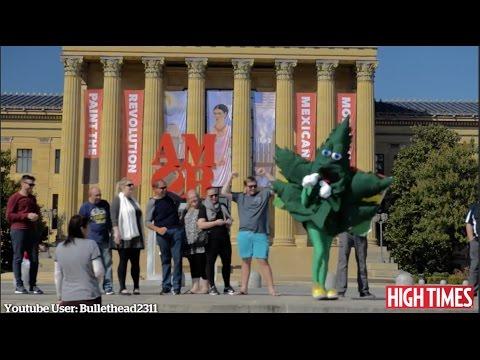 Cannabis Activists Plan Pop-Up 'Weed Garden' Outside Philadelphia Art Museum