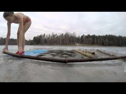 Winter Swim Babelitis Riga Latvia 05.03.2016