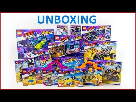 UNBOXING ALL LEGO The Movie 2: The Second Part  Construction Toy