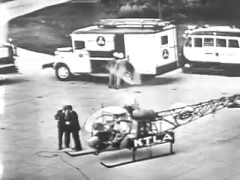 KTLA Telecopter First Live Broadcast