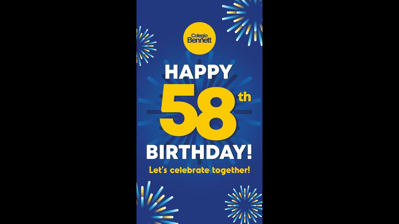 Cumpleaños 58 Colegio Bennett