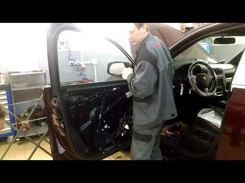 Porsche Cayenne Ремонт Диагностика стеклоподъемника