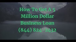 5 Million Dollar Business Loan - Elite Business Funding Million Dollar Business Credit Lines Here