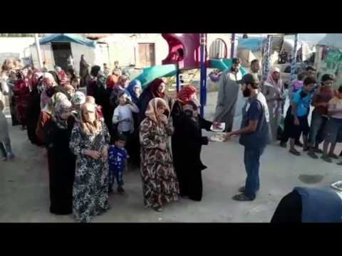 IFTAR IN SYRIA AZAD WELFARE TRUST : 21st June 2017
