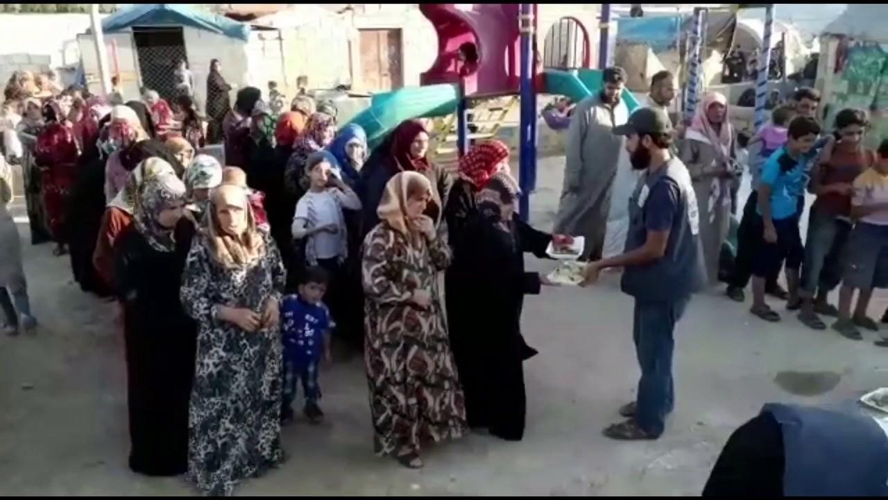Iftar In Syria Azad Welfare Trust 21st June 2017 Youtube