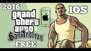 [New] Gta San Andreas free downloads AppStore for iPhone Apple ID 2017