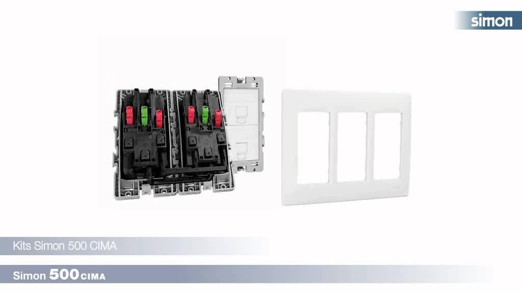 Ventajas cajas de superficie para instalaci n el ctrica voz datos y multimedia simon 500 cima - Instalacion electrica superficie ...