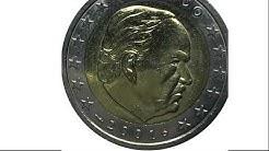 #66 Eurokursmünzen von Malta, Monaco und Österreich