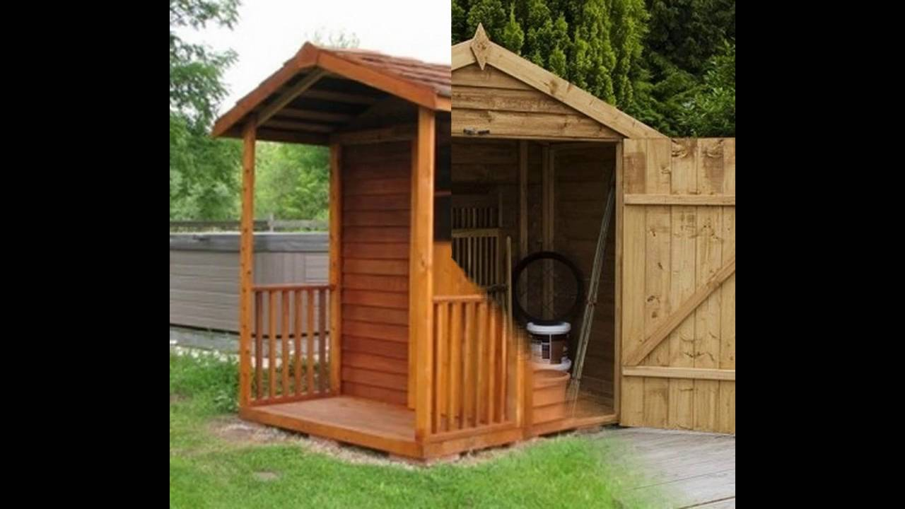 Small garden shed design ideas YouTube