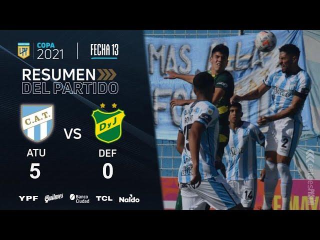 Copa De La Liga | Fecha 13 | resumen de Atlético Tucumán - Defensa y Justicia