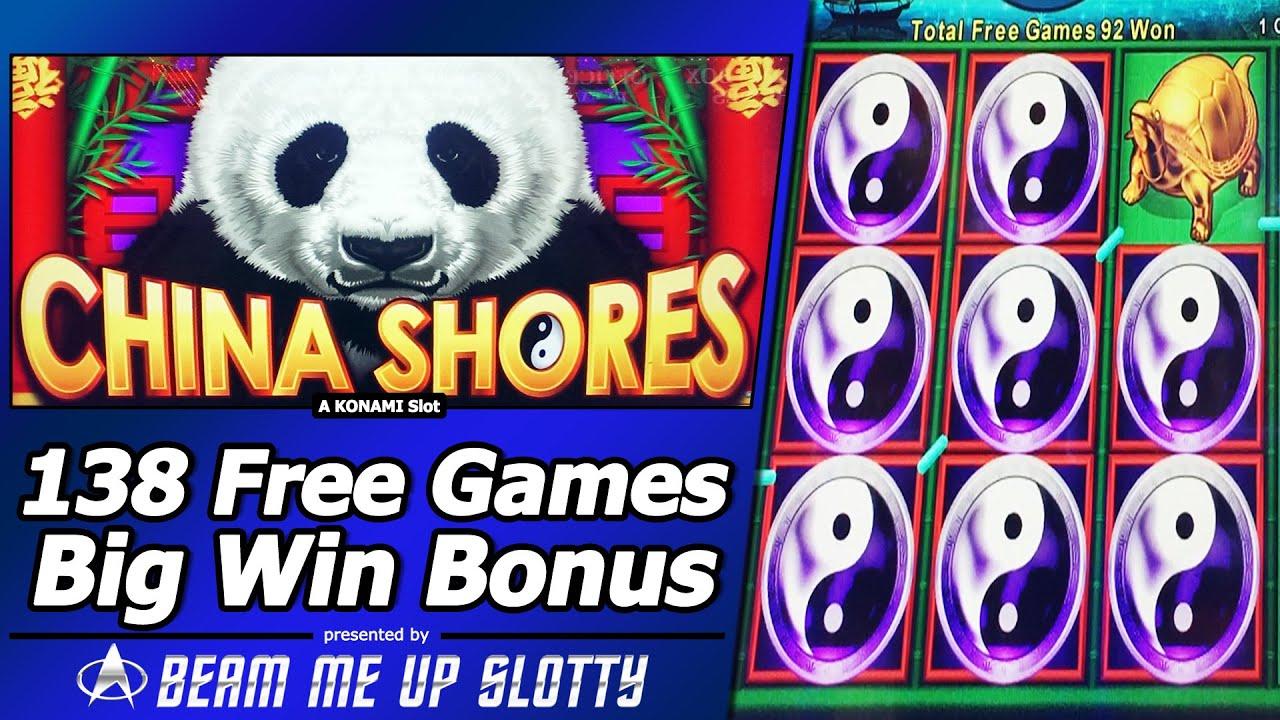China Shores Slot 138 Free Games Big Win Bonus Youtube