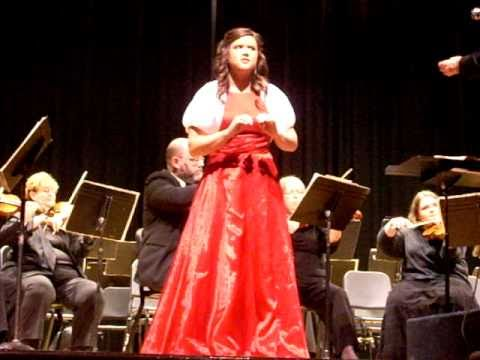Angela Raielle Brown with Washington Idaho Symphony