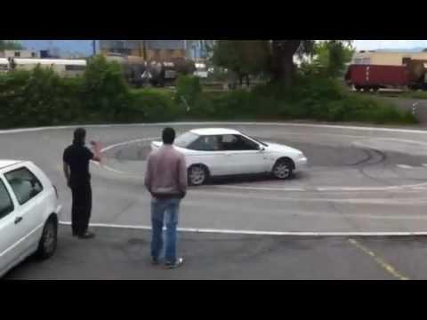 Drift en hyundai Scoupe GT