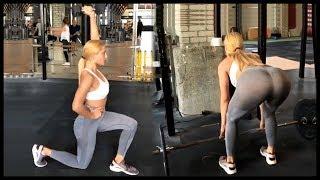 Ioanna Touni Glute Workout - Hot!