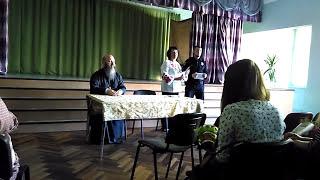 """Урок присвячений 25-річчю незалежності в """"російській"""" школі у Львові"""