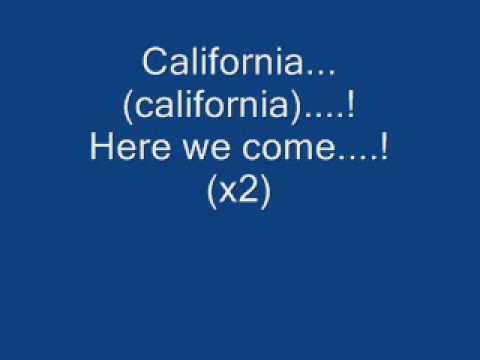 Phantom Planet - Orange County - California (lyrics)