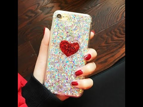 DIY : how to make mobile covers at home for girls