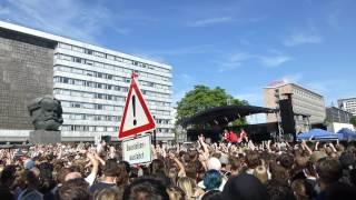 Kraftklub - Hallo Nacht Live in Chemnitz 11.06.2017