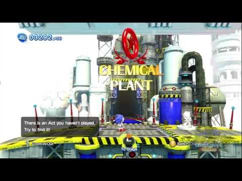 Sonic Generations Chemical Plant Zone Act  Red Rings