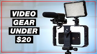 Best CHEAP Smartphone Accessories for Video