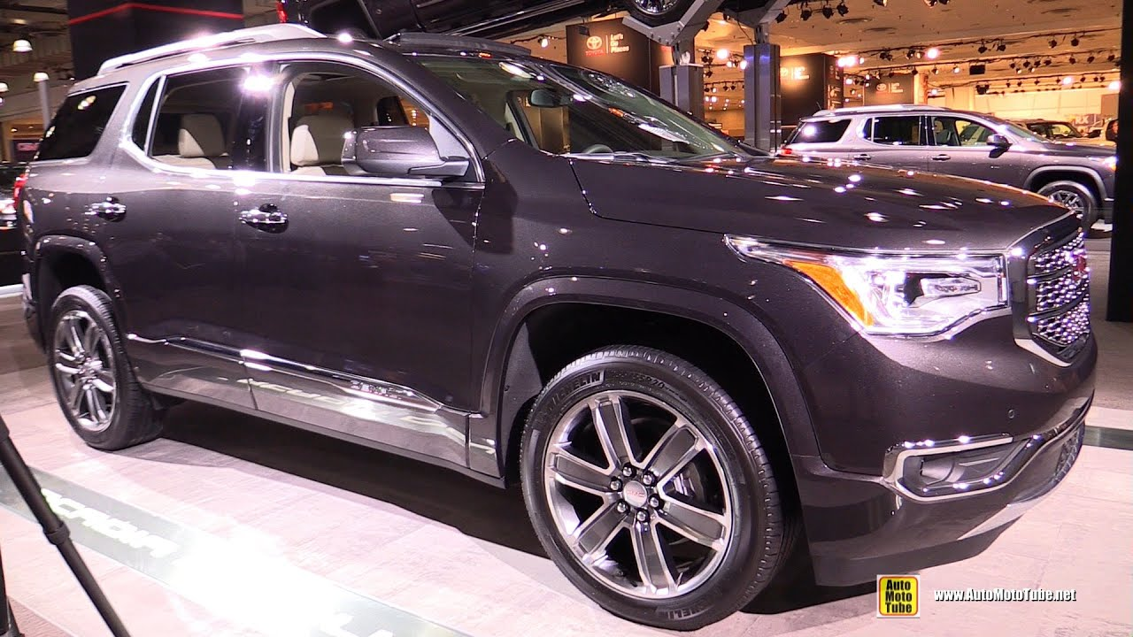 Gmc Acadia Denali 2017 Interior   Best new cars for 2018 2017 Gmc Acadia Denali Exterior And Interior Walkaround 2016