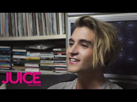 Danny Avila is Amazed by Steve Aoki's Alcohol-free Antics | JUICE Singapore