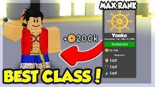 I UNLOCKED THE YONKO CLASS! *MAX CLASS* IN ANIME FIGHTING SIMULATOR! (ROBLOX)