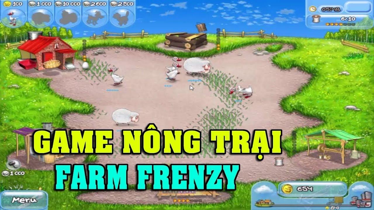 Play game Farm Frenzy – Tải và chơi game Nông trại offline trên máy tính