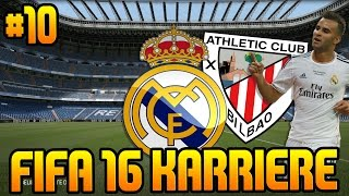 fifa 16 karrieremodus 10 topspiel vs athletic bilbao fifa 16 karriere real madrid