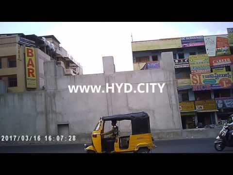 Full video of Dilsukhnagar Area in Hyderabad