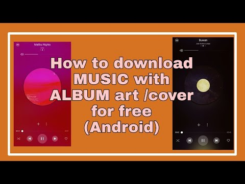 How To Download MUSIC With Album Art/Cover For FREE (ANDROID) (TAGALOG) || Nicx Angela