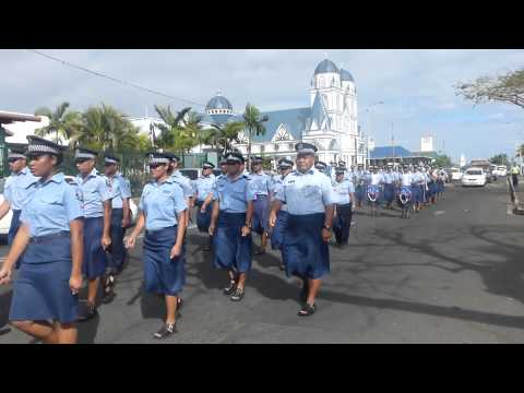 Daily Parade of Police - Samoa