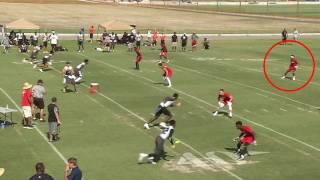Omar Fortt IMG 7v7 Highlights vs Pro Impact and QB Mac Jones (Alabama Commitment)
