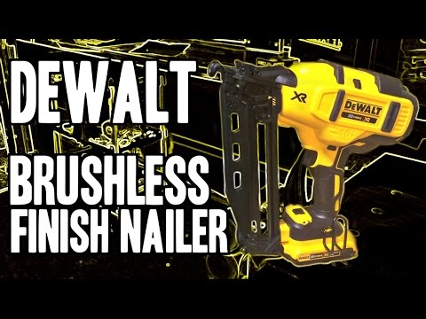 Dewalt Dcn692 Xr 18v Li Ion Nailer Its Tv Doovi