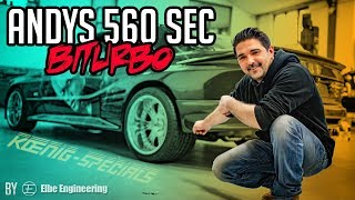 Stern Garage - Andy's 560 SEC BiTurbo by Elbe Engineering | Mercedes Benz W126 560 SEC