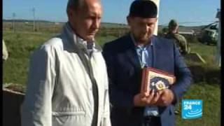 Russia's Putin makes surprise visit to Chechnya - F24 082409