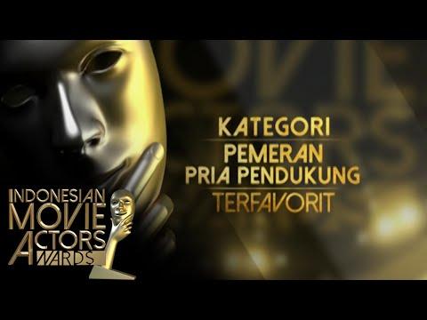 Nominasi Pemeran Pria Pendukung Terfavorit [Indonesian Movie Actors Awards 2016] [30 Mei 2016]