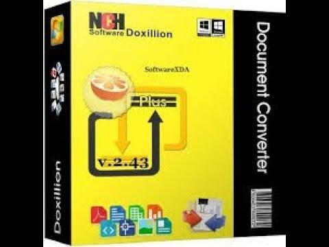 doxillion document converter code