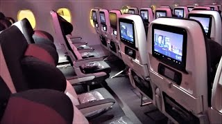We know Qatar is excellent in business class - but what are they li...
