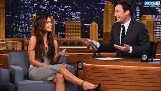 Megan Fox Plays Pictionary With Jimmy Fallon, Wiz Khalifa And Nick Cannon On The Tonight Show