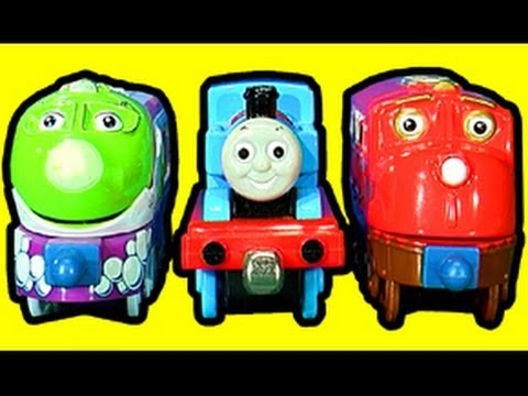 Chuggington Die Cast Toy Review and HO Wheel Conversion