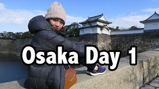 Osaka Japan Travel Vlog #1