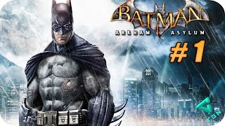 Batman Arkham Asylum - Gameplay Español - Capitulo 1 - 1080p HD