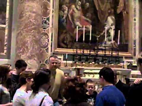 MJ at the Vatican Part 2