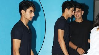 Saif Ali Khan's HOT Son Ibrahim Khan Snapped Partying With Salman Khan