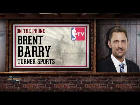 Turner Sports' Brent Barry on The Dan Patrick Show | Full Interview | 4/19/18