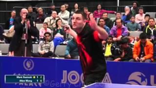 Mark Hazinski vs Allen Wang  Men s Singles Semifinals
